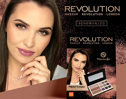 ADVERTISEMENT FOR MAKEUP REVOLUTION POLSKA