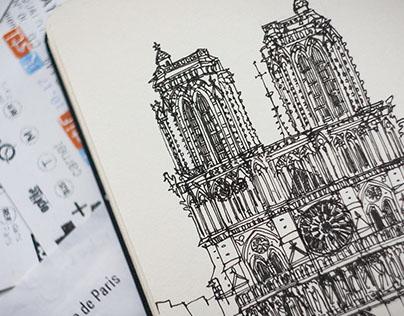 Notre-Dame de Paris. 2017