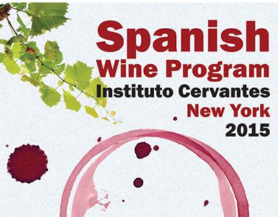 Wine Program 2015 - Instituto Cervantes New York