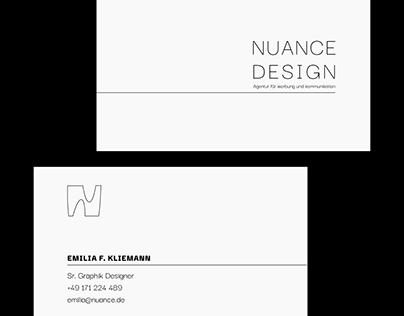 Nuance Card Design