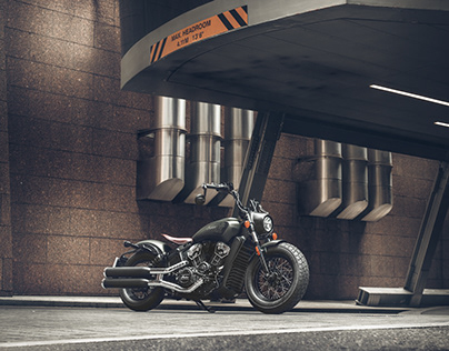 72 hours in London with INDIAN SCOUT BOBBER TWENTY