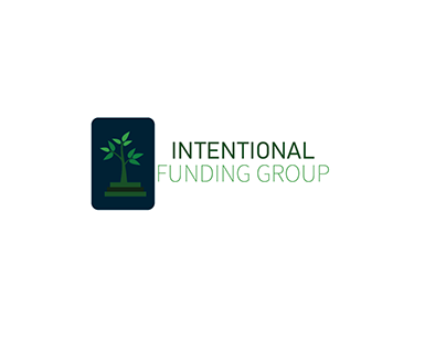 Intentional funding group logo design