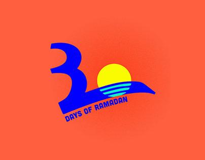 30 Days of Ramadan