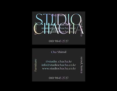 STUDIO CHACHA IDENTITY