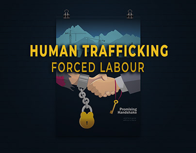 Human Trafficking Awareness Poster: Forced Labor