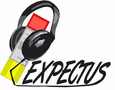 Expectus logo, Corporate Identity and Album Covers