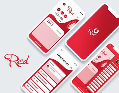 Vodafone Mobile App Redesign
