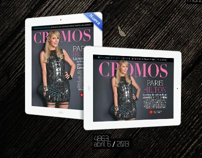 Revista CROMOS en iPad
