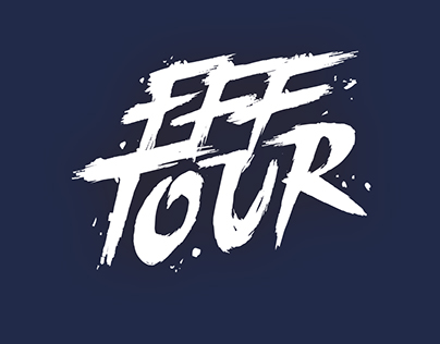 FFF Tour / Graphic Design & Typography