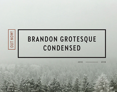 Brandon Grotesque Condensed