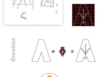 Athud Media | Logo Idea | Graphic Design Company Logo