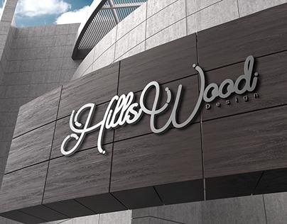 HillsWood Logo Design