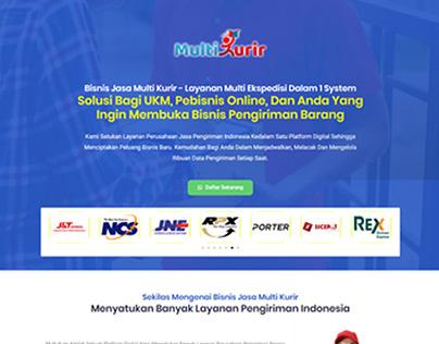 Website Multi Kurir