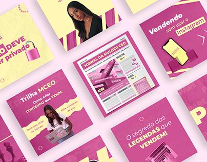 Social Media Design | Mulheres CEO