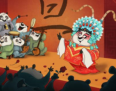 Chinese Opera characters