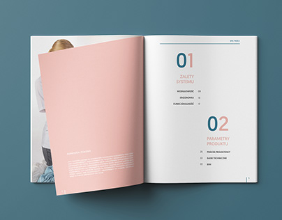 SymbioCare catalogue design
