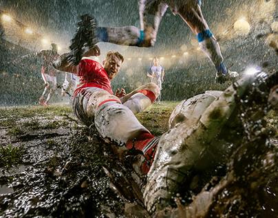 Rainy Soccer