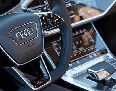 Audi A7 Sportback CGI Interior