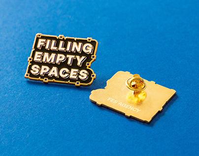 FES Agency Enamel Pin