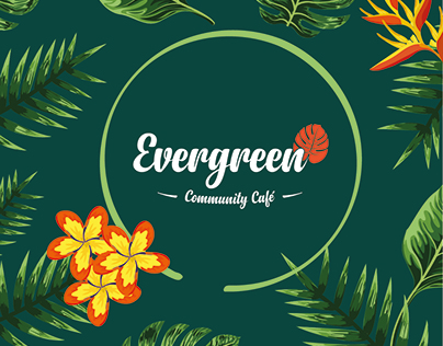 Evergreen Cafe - Brand Identity