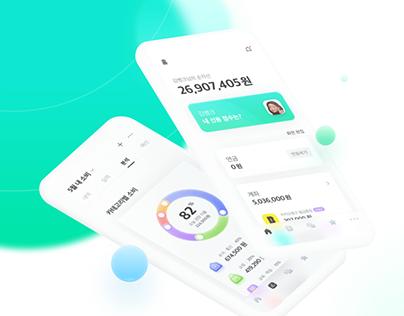 Banksalad App UX/UI Renewal Concept