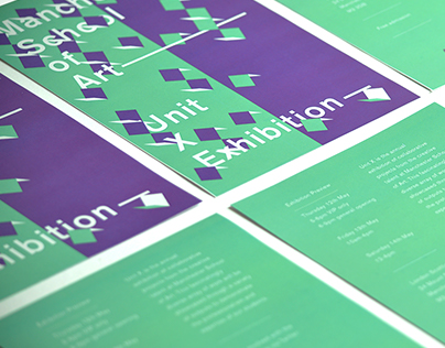 Unit X Exhibition Branding