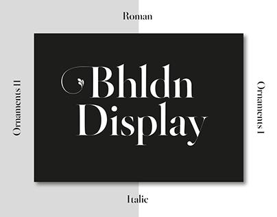 Bhldn Display
