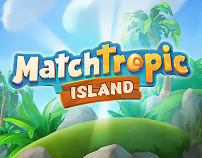 Match Tropic Island Game