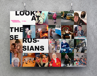 LOOK AT THESE RUSSIANS // POST-SOVIET POSTER