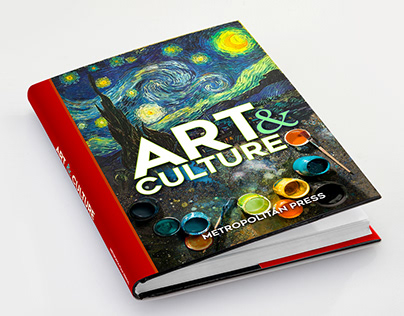Text Book Jacket Design - Art & Culture
