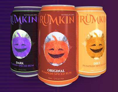 RUMKIN - Pumpkin Spiced Rum Branding