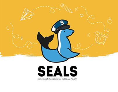 SEALS mobile app illustration