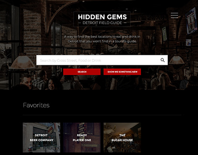 Hidden Gems - .net Magazine Challenge