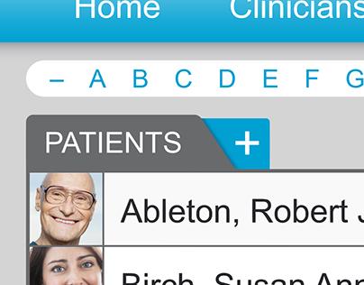 medical dashboard detail