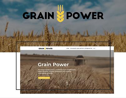 Grain Power - Website