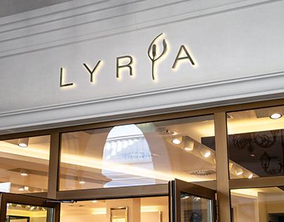 Identidade Visual - Lyria Spa Express