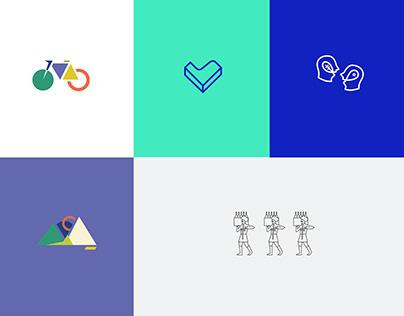 Logotypy 2016-2018