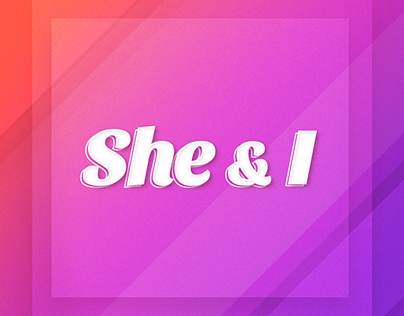 She & I - branding as a part of visual identification