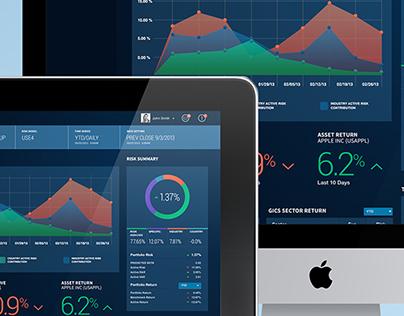 Portfolio Dashboard Concept