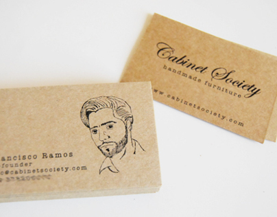 Cabinet Society Business's cards
