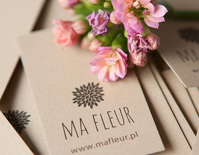MA FLEUR branding