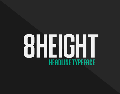8HEIGHT | typeface design