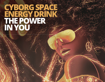 Cyborg Space Energy Drink