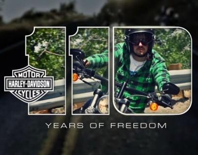 "Harley-Davidson ""Helmet Time"" Spot"