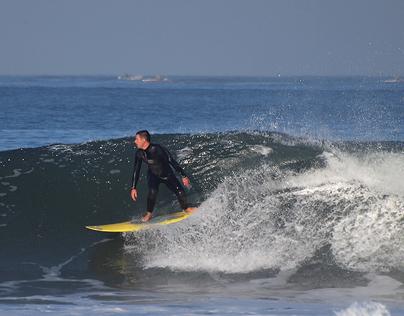 Freestyle Surfers at  Praia da Barra, 08 October 2013