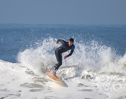 Freestyle surfers and longboard riders, 30 October 2013