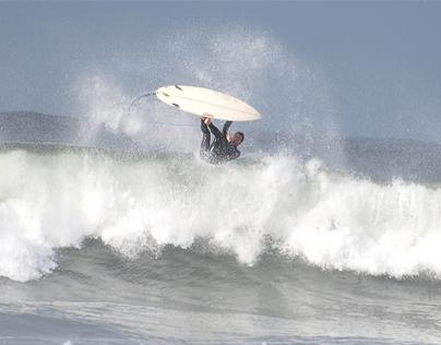 Freestyle Surfers at Praia da Barra, 31 October 2013