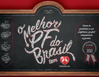 O Melhor PF do Brasil -Perdigão