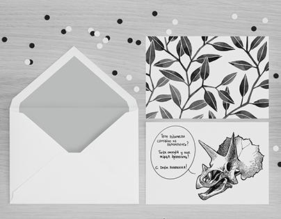 B&W postcards