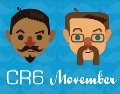 RoomCR6 Movember Campaign